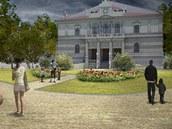 Studie obnovy parku ve �truncov�ch sadech v Plzni