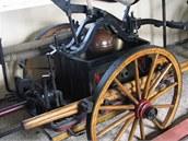 Expozice hasičského muzea v Novém Oldřichově