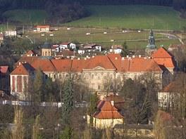 Cisterciácký klášter Plasy.