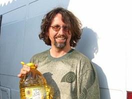 Stanislav Miler se svým ekoautem objel půlku světa.