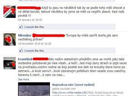 Extrémisté na českém Facebooku