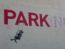 Banksyho graffiti v Los Angeles
