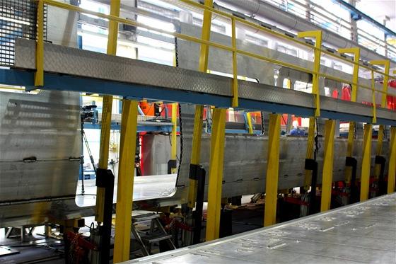 Výroba skříně vozidla pro LEO Express
