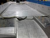 Výroba skříně vozidla pro LEO Experss