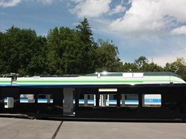 První vyrobená skříň pro LEO Express