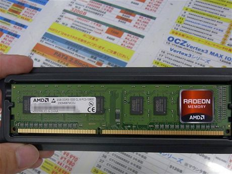 Paměti Radeon Memory DDR3