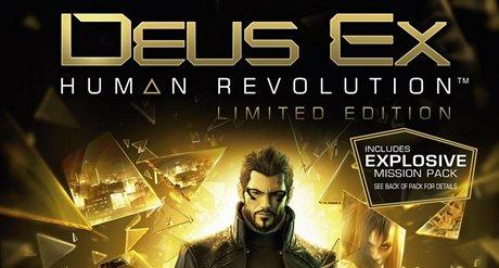Deus Ex: Human Revolution - obal standardní verze hry