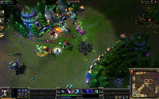 Hra League of Legends, pro kterou Will Debassige chtěl sestavit komunitou financovaný tým.