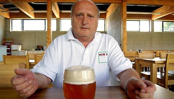 """""""Některá piva jsou hodně zfiltrovaná a pasterizovaná, takže vydrží třeba při"""