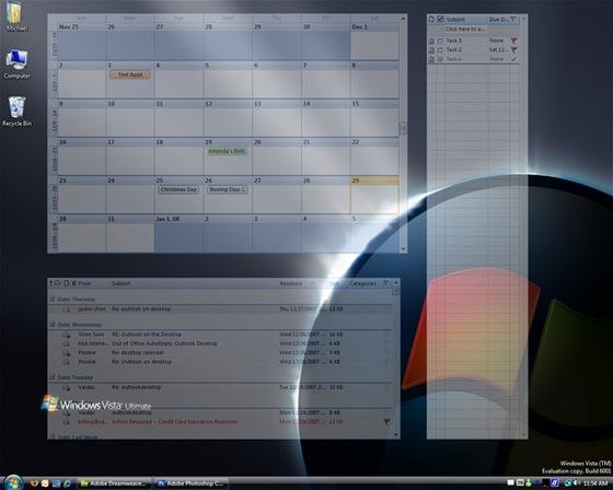 S doplňkem Outlook on the Desktop budete mít důležité informace z Outlooku