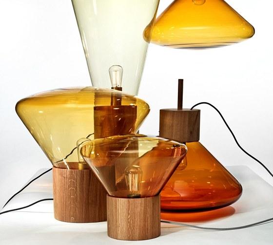 Série svítidel inspirovaná francouzským pobytem designérky Lucie Koldové
