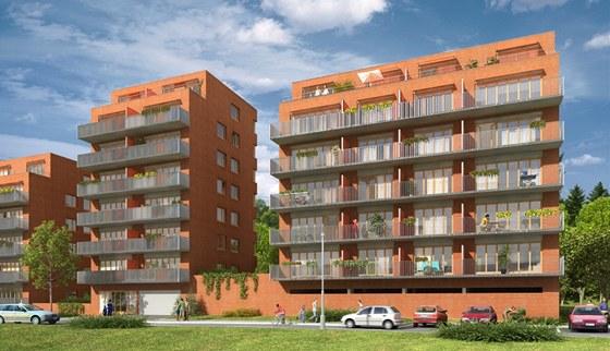 Novostavba bytového domu U Hamerského rybníka