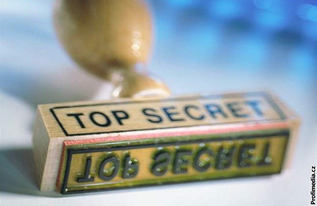 Top secret - Ilustra�ní foto