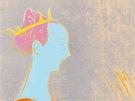 Andy Warhol - Detaily renesanční malby (Paolo Uccello, Sv. Jiří a drak) (1984)