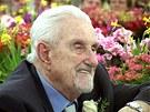 Jiří Traxler při oslavě svých 95. narozenin v kanadském Edmontonu (10. března 2007)