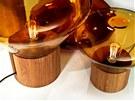 Pro Muffins se používá sklo v kombinaci se dřevem.