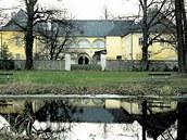 Zámek Brantice na Osoblažsku.