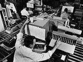 Kontrola psacího stroje Selectric