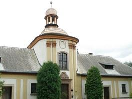 Kaple bývalého špitálu v Horní Branné na Jilemnicku
