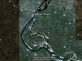 Volgograd (Google Earth)