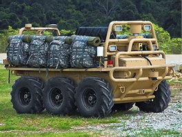 Robotické auto Squad Mission Support System