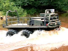 SMSS ve vodě