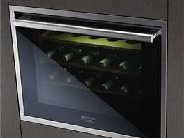 Vestavná vinotéka Hotpoint Luce WL 24/HA disponuje antivibračním systémem,