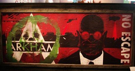 Plak�t l�k� na ak�n� titul Batman: Arkham Asylum.