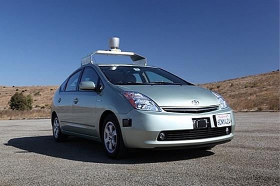 Bezpilotní Toyota Prius firmy Google