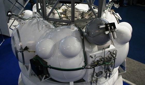 Základní modul sondy Phobos-Grunt, který by se měl postarat o její cestu k
