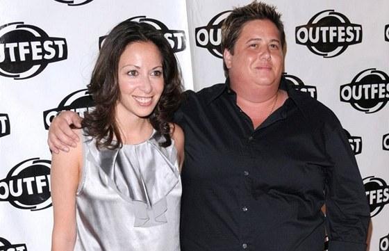 Chaz Salvatore Bono s přítelkyní