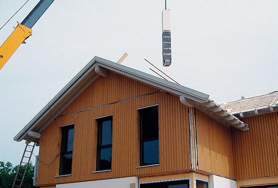Při stavbách se velmi často používají různé stavebnicové systémy.