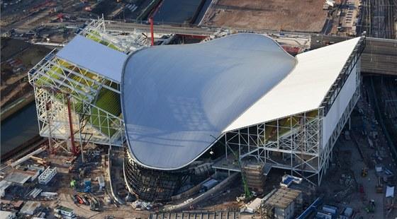 Zaha Hadid navrhla pro olympijské hry v Londýně plavecký stadion London