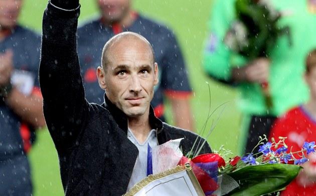 DINO, DĚKUJEM'! S reprezentací se Jan Koller rozloučil po utkání s Polskem. Tak