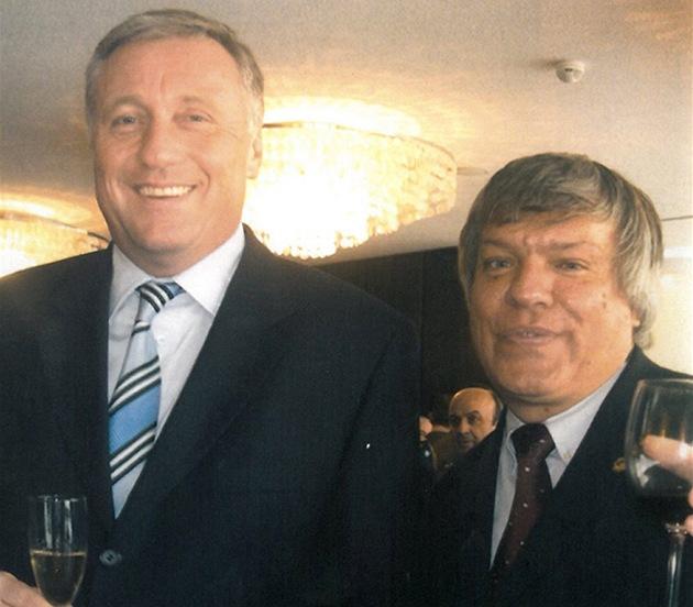 Jaroslav Barták a Mirek Topolánek