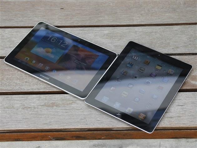 Samsung Galaxy Tab 10.1 a Apple iPad 2