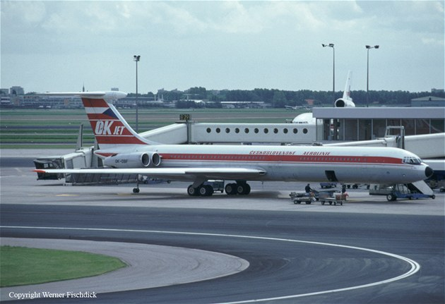 Ilju�in Il-62 (OK-DBF)