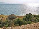 Bunkr na pobřeží v Sarandě