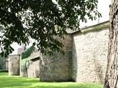 Park a hradby v Poličce