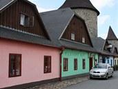 Památkově chráněné domy u hradeb v Poličce