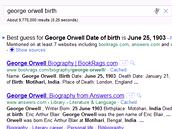 Google odhaduje odpovědi podle různých zdrojů, pokud se zdroje shodují, odhad