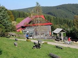 Chata Kamenitý nad Horní Lomnou