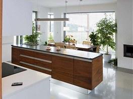 Podstatná součást konceptu domu spočívá v otevřených průhledech. Ze vstupní