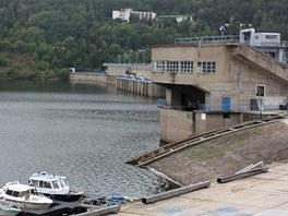 Lodní výtahy na přehradě Orlík