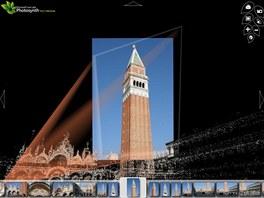Z dostatečného množství fotografií můžete pomocí služby Photosynth vytvářet