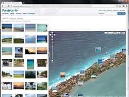 Panoramio slouží nejen k nahrávání vlastních snímků do Google Earth, ale rovněž