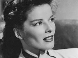 Americká herečka Katharine Hepburnová
