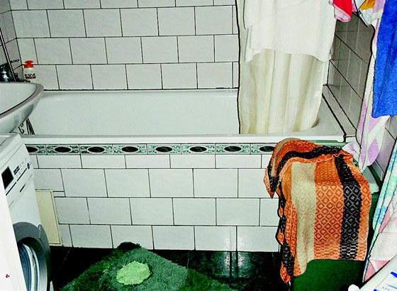 Původní koupelna (po první rekonstrukci)