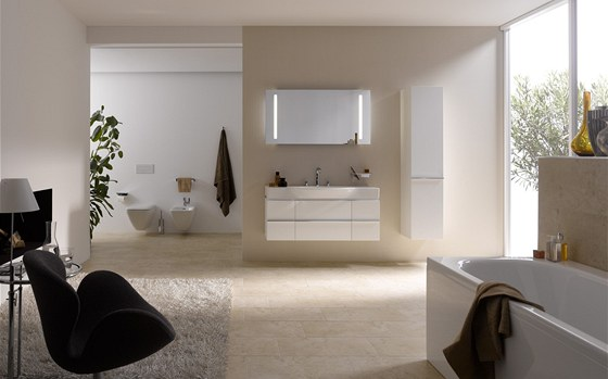 �eck� design�r Andreas Dimitriadis navrhl pro Laufen tak� minimalistickou