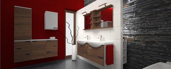 Koupelnov� sestava Mio new od �esk�ho design�ra Petra Kub�ka m� sv�� design a